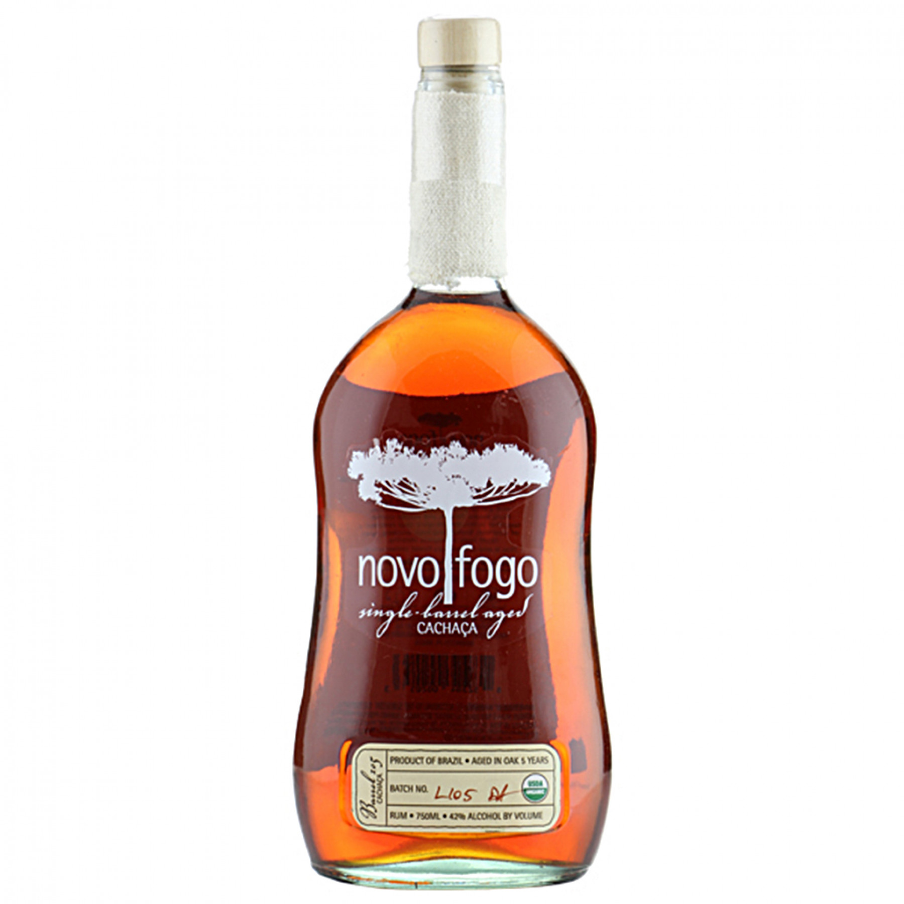 NV Novo Fogo (Single-Barrel #137) 7 year Cachaca 750mL