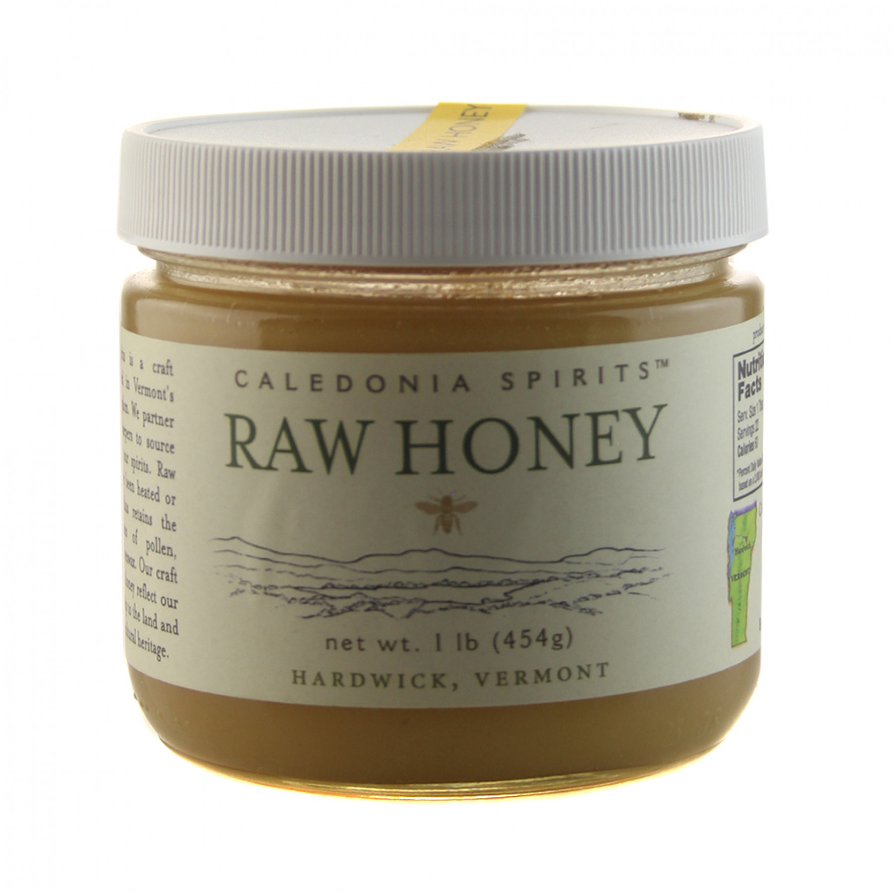 Barr Hill Pure Raw Honey Caledonia Spirits