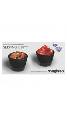 Magisso Serving Cup set of 2 - Naturally Cooling Ceramics